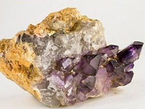 Amethyst Phantom Crystal on Matrix - Namibia